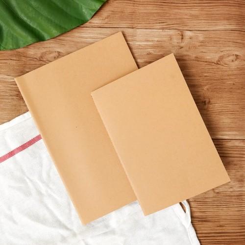 Foto Produk Kraft Paper Plain Notebook B5 / Buku Catatan B5 / Buku Plain B5 dari Pinkabulous