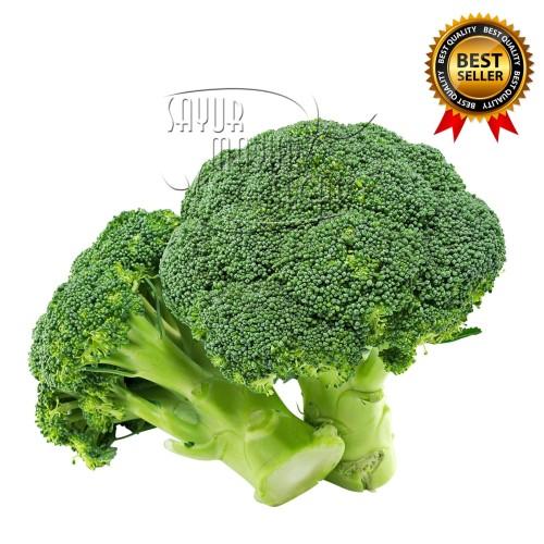 Foto Produk Brokoli / Broccoli Super fresh (Sayuran Kemasan 500 gram) dari SayurMayurSegar