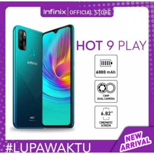 Foto Produk Infinix Hot 9 Play 4/64 GB Garansi Resmi dari Nic-cell