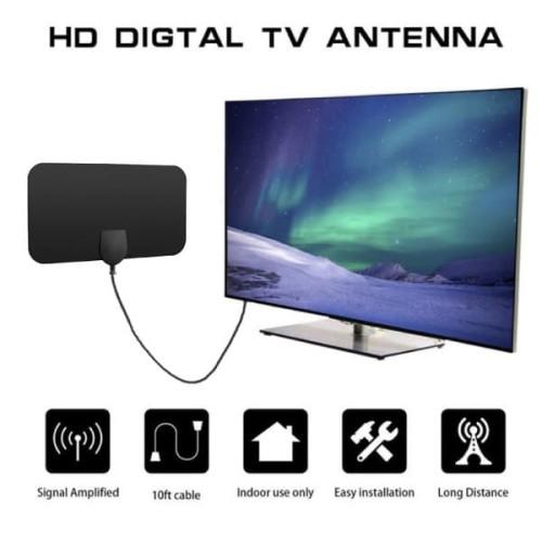 Foto Produk Antena TV Digital Antenna TV HD indoor DVB-T2 4K UHF Daya tangkap kuat dari lbagstore