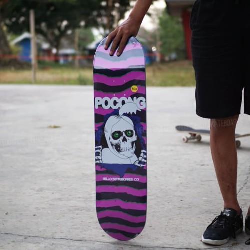 Foto Produk Pocong series purple size 8 & size 8.375 dari Hello Skateboards