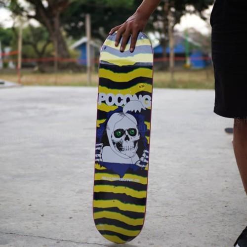 Foto Produk Pocong series yellow size 8 dari Hello Skateboards