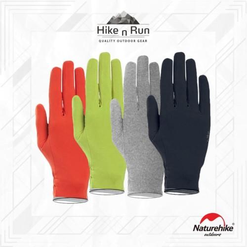 Foto Produk Sarung Tangan Naturehike GL09 NH20FS015 Thin and Non-Slip Gloves - Orange, L dari Hike n Run