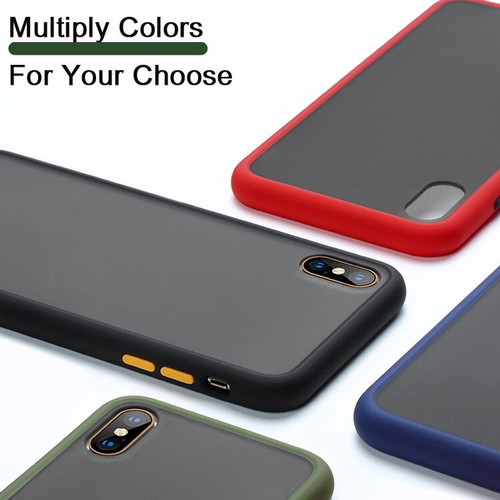 Foto Produk Samsung A01 A10s A20s A21s Case Skin Feel Matte Full Protection - SAMSUNG A20s, Biru dari Jagonya Case