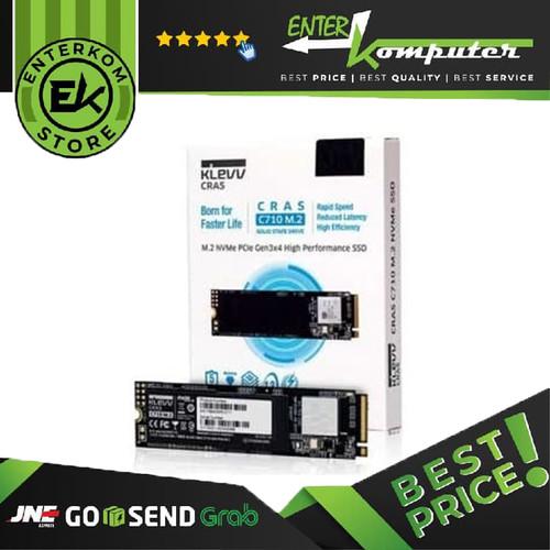 Foto Produk KLEVV SSD CRAS C710 256GB M.2 2280 NVMe PCle Gen3 x4 / SSD 256GB dari Enter Komputer Official