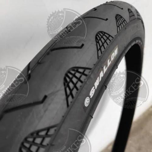 Foto Produk Ban luar sepeda Swallow 27 5 x 1 75 HITAM MTB City bike Deli tire deli dari COCO BIKE PARTS