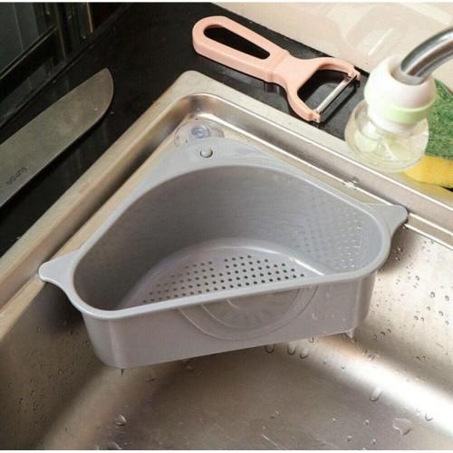 Foto Produk YY014 Rak Sudut Wastafel Saringan Dapur Segitiga dari supplier beauty