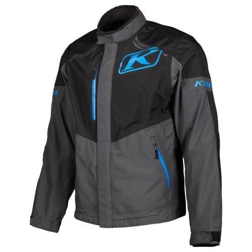 Foto Produk Klim Traverse Jacket Black - Kinetik Blue Size M dari Thrill Bitz