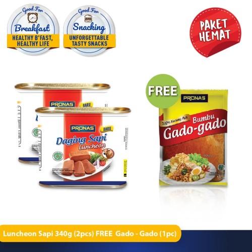Foto Produk PRONAS Paket Special Luncheon Sapi 340 g FREE Gado-Gado 185 g dari Pronas Official Store