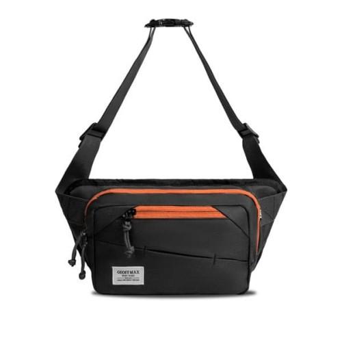Foto Produk Geoff Max Official - Midlife Black Orange | Tas Selempang dari Geoff Max Official