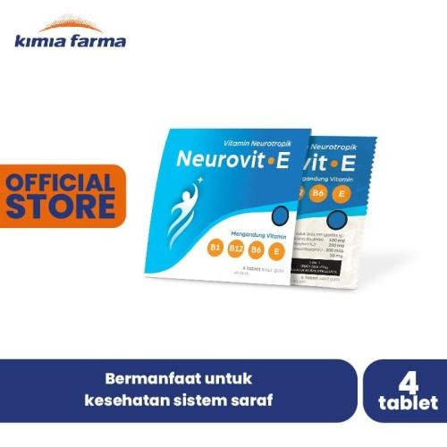 Foto Produk Neurovit E Supplement Strip isi 4 dari Kimia Farma Official