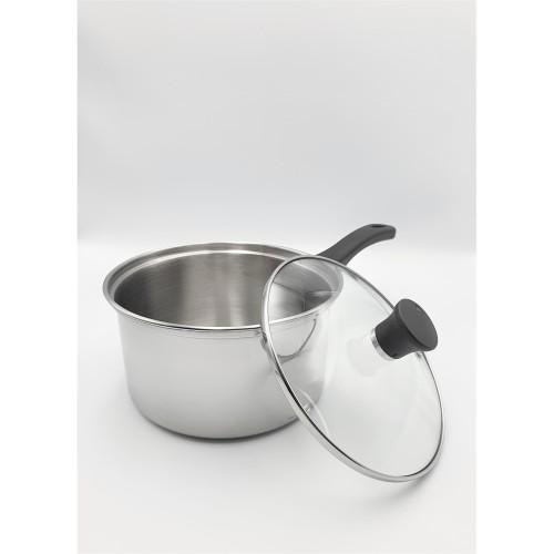Foto Produk Saucepan 17 cm Stainless Steel INOCOOK dari deeBlues