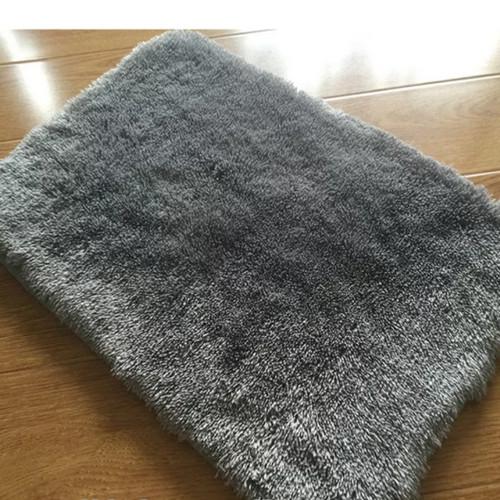 Foto Produk Keset bulu 35*50 Tebal 4.5cm - Kuning dari Luzzy Distibutor Karpet