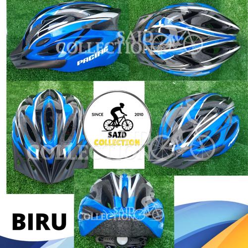 Foto Produk Helm Sepeda Pacific SP-J123 - Biru dari Said Colletion