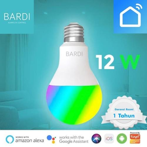 Foto Produk Bardi Bohlam Lampu Smart Home LED Light Bulb Wifi RGB WW 12W 12 Watt dari Smart Life ID