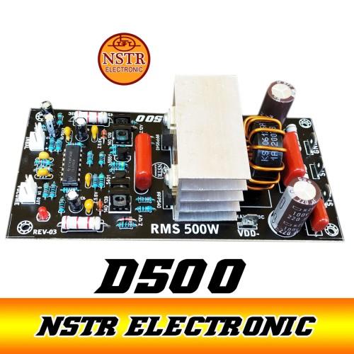 Foto Produk kit power class d 500 watt non bias dari NUSANTARA ELEKTRONIC