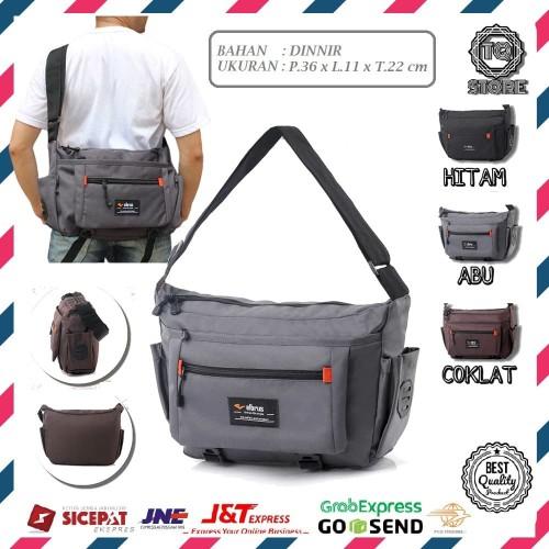 Foto Produk Tas Selempang pria / Sling bag murah Outvin - Hitam dari TQSTORE9