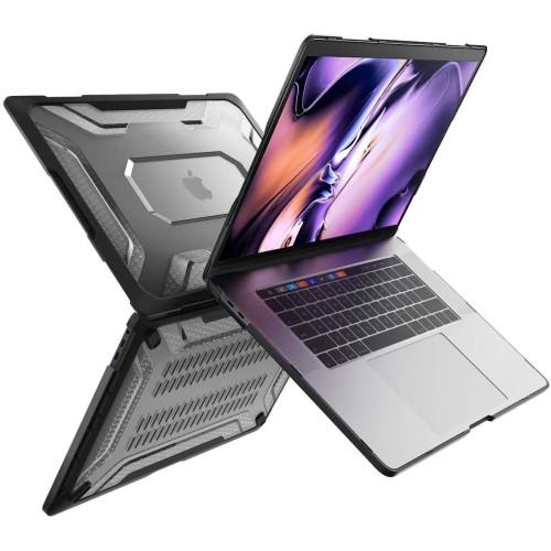 Foto Produk Macbook Pro 16 Inch 2019 Case SUPCASE Unicorn Beetle Clear - Black dari Supcase Official ID