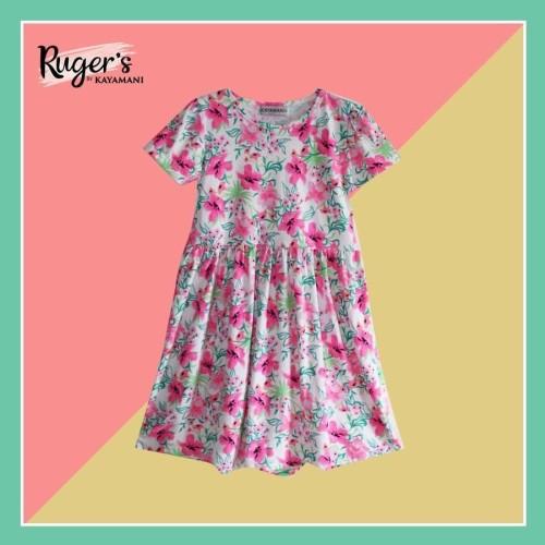 Foto Produk Rugers By Kayamani - Kids Dress - Fresh Flower - 3 dari rugers_bykayamani