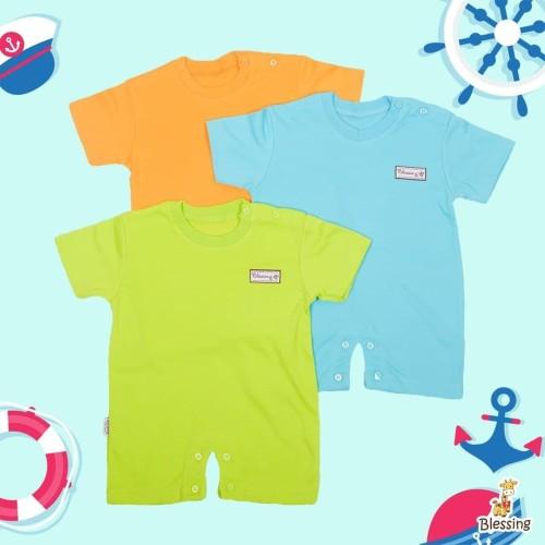 Foto Produk Jumper Pendek-warna tua-Blessing babywear (Size:Allsize-Set 3 pcs dari BLESSING Babywear