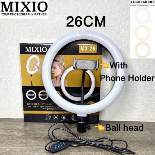 Foto Produk RING LIGHT LED 26CM Lampu 26 cm Make Up Vlog RingLight Lampu Ringlight dari Mix acc88