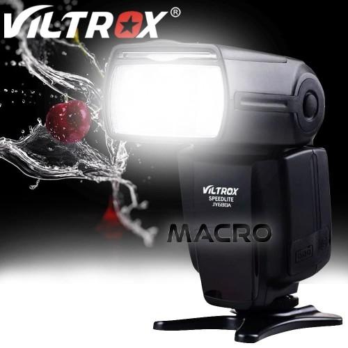 Foto Produk Viltrox JY-680A LCD Universal Flash for Canon Nikon Pentax Olympus dari MACRO
