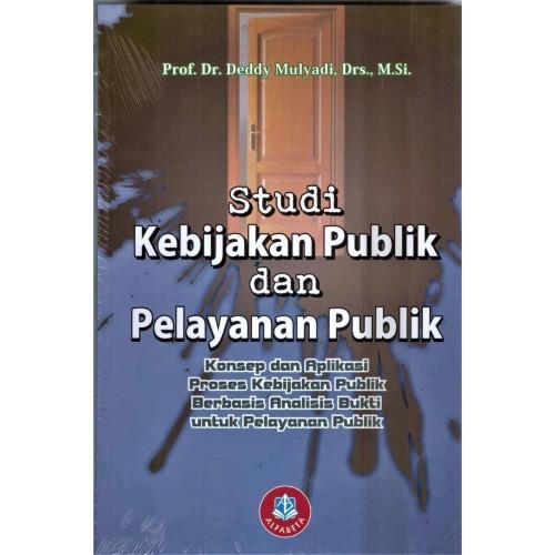 Foto Produk buku Studi Kebijakan Publik dan Pelayanan Publik dari Jovans Book Store