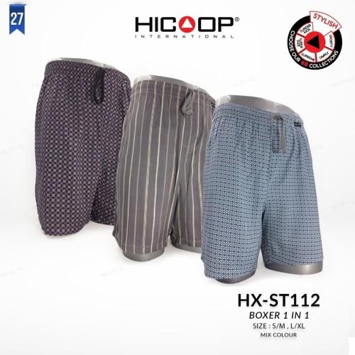 Foto Produk Hicoop Celana Boxer Pria HX-ST 112 - M dari Hicoop