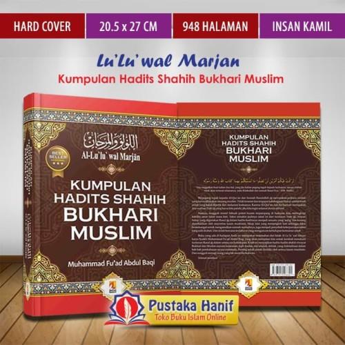 Foto Produk Buku Kumpulan Hadits Shahih Bukhari Muslim - Al Lulu Wal Marjan dari Pustaka Hanif