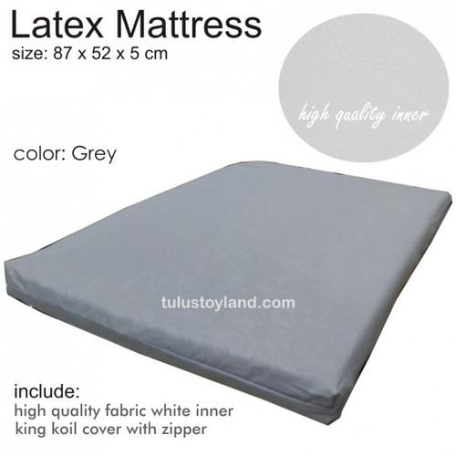 Foto Produk Latex Mattress cocok ukuran Joie Kubbie Kasur Lateks Bayi - Grey dari TulusToyland