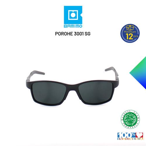 Foto Produk GROSIR Kacamata Sepeda Porohe HALAL Pria Wanita - POROHE 3001 SG - Hitam Doff MBL dari bamimo