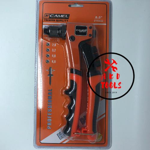 """Foto Produk Heavy Duty HD Tang Rivet Ripet Adjustable """"CAMEL"""" 2.4 - 4.8 mm dari AKD Tools Shop"""