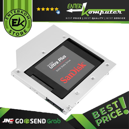 Foto Produk Orico L95SS Hard Drive Caddy 9.5mm dari Enter Komputer Official