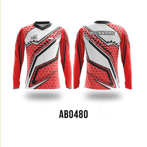 Foto Produk Kaos Baju Jersey Sepeda Custom - AB0480 - JRID - L dari jrid cloth