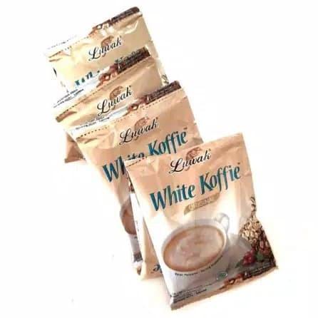 Foto Produk LUWAK WHITE COFFEE 1 RENCENG / KOPI LUWAK WHITE KOFFIE MURAH GROSIR dari DailyFashionTNG