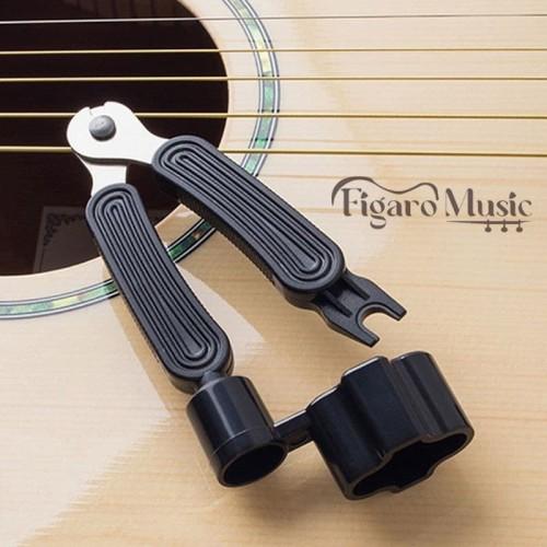 Foto Produk Winder Gitar String Cutter and Pin Puller Guitar 3 In 1 dari figaro music shop