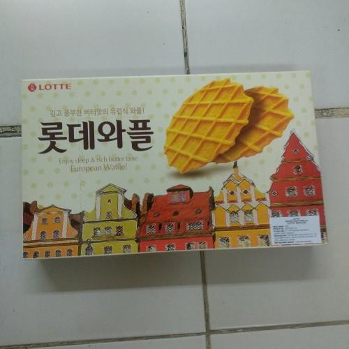 Foto Produk Lotte Waffles 160g dari cubeecubee