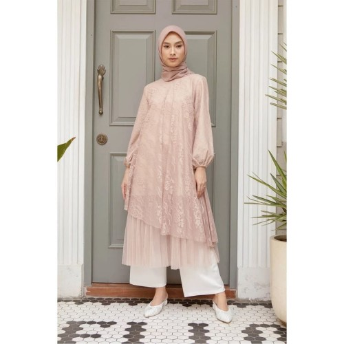 Foto Produk HijabChic Eid Alaiqa Brown - S dari HijabChic Official