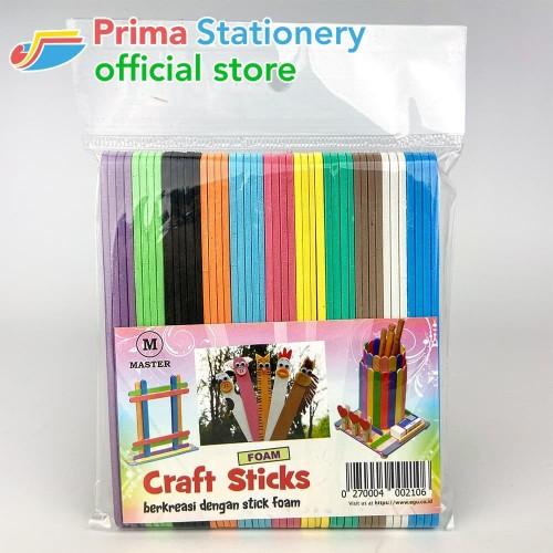 Foto Produk Stick Kreasi Foam Warna dari Prima Stationery