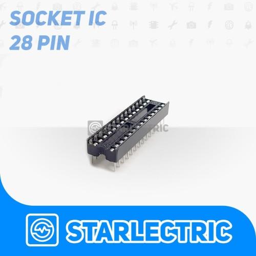 Foto Produk IC Socket 28 Pin DIP-28 DIP 28 dari Starlectric