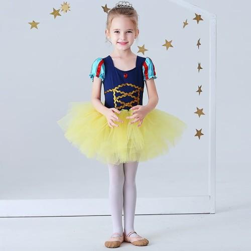 Foto Produk Baju Balet Kostum Balet Gaun Snow White Ballet Costum Dress Princess - dari de joliejolie