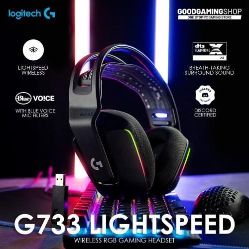 Foto Produk Logitech G733 Lightspeed - Wireless Gaming Headset dari GOODGAMINGM2M
