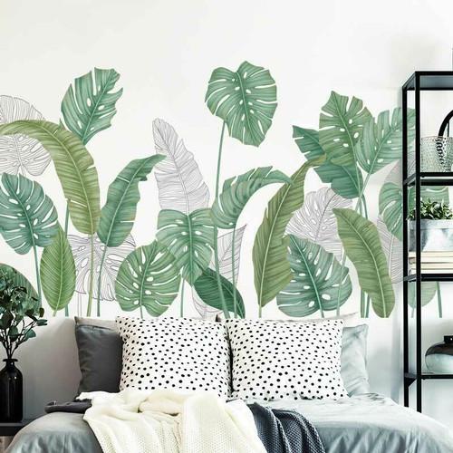 Foto Produk Tropical design wall sticker dinding/wallpaper motif/dekorasi dinding - MOTIF 03 dari Urban Collections