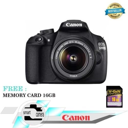 Foto Produk KAMERA CANON EOS 1200D KIT 18-55MM / CANON EOS 1200D / EOS 1200D dari Smart Camera