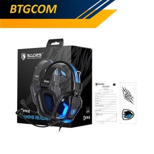 Foto Produk Sades Element Stereo Gaming Headset / Elemen dari BTGCOM