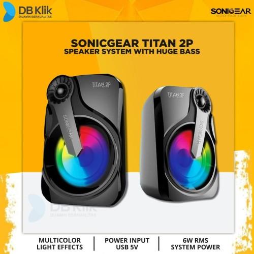 Foto Produk Speaker SonicGear Titan 2P (Passive) - Sonic Gear Titan 2 Passive dari dbclick
