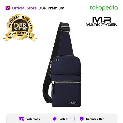 Foto Produk MARK RYDEN MR5400 100% ORIGINAL TAS SELEMPANG - NAVY dari DBR Premium