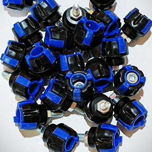 Foto Produk BAUT VARIASI MOTOR / BAUT PLAT MOTOR / BAUT TUTUP KNALPOT SEMUA MOTOR - Biru dari T2San Store