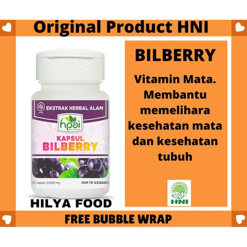 Foto Produk Vitamin Mata Billberry HPAI Menjaga Fungsi Retina dari Hilya Food
