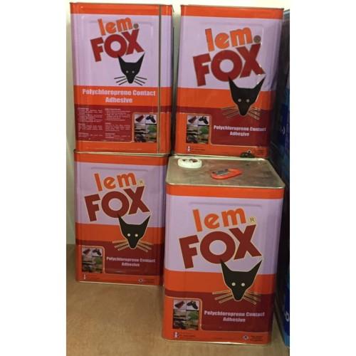 Foto Produk Lem HPL Furniture Mebel Fox Kuning blek pail 14 Kg 14000 gram dari WINSTON SUKSES ABADI